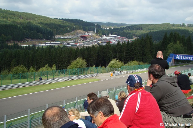 Tor Spa-Francorchamps podczas F1 GP Belgii 2009 (3)