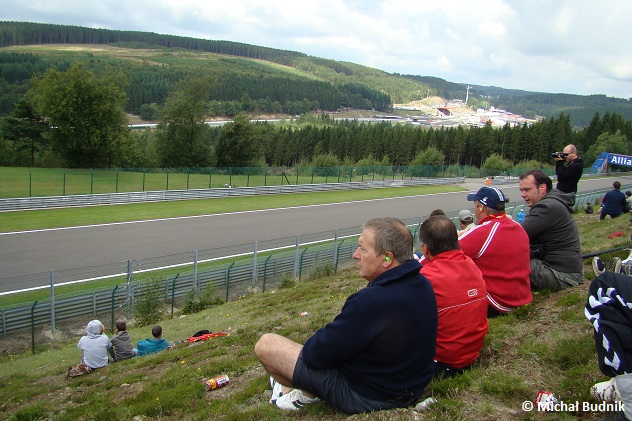 Tor Spa-Francorchamps podczas F1 GP Belgii 2009 (4)