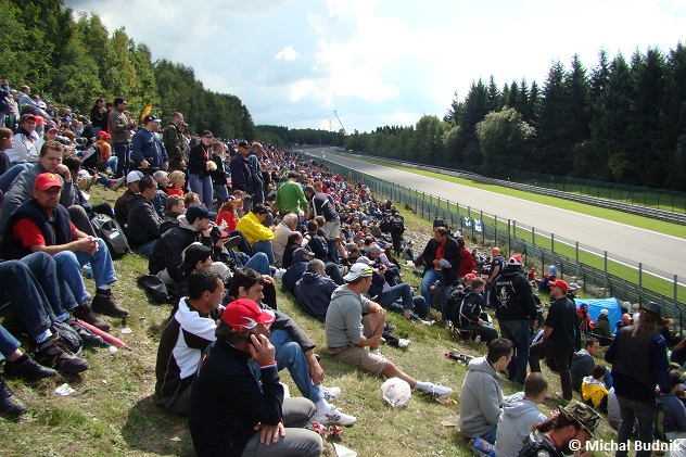 Tor Spa-Francorchamps podczas F1 GP Belgii 2009 (7)
